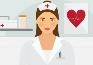 beautiful-nurse-vector